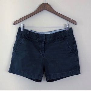 J.Crew Factory Broken-In Chino Blue Shorts